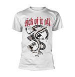 Sick Of It All T-shirt Eagle (WHITE)