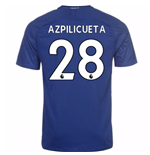 2017-18 Chelsea Home Shirt (Azpilicueta 28) - Kids