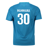 2018-19 Zenit St Petersburg Home Shirt (Mammana 30)