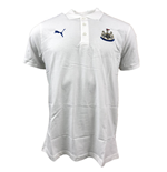 2017-2018 Newcastle Puma Leisure Polo Shirt (White)