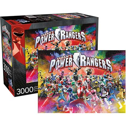 POWER RANGERS 3000pc Jumbo Jigsaw Puzzle