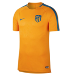 2018-2019 Atletico Madrid Nike Pre-Match Dry Training Shirt (Orange)