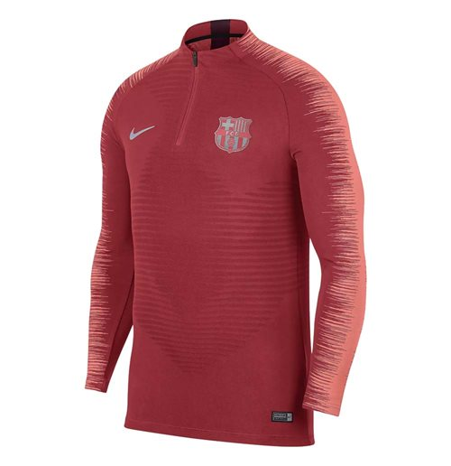 2018-2019 Barcelona Nike Strike Vaporknit Drill Top (Tropical Pink)