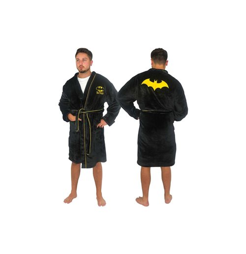 DC Comics Fleece Bathrobe Batman