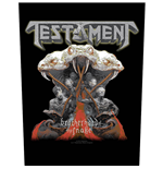 Testament Back Patch: Brotherhood of the Snake