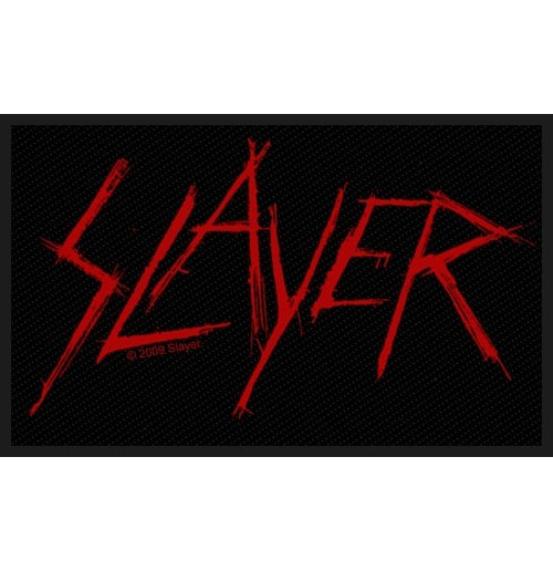 Slayer Standard Patch: Scratched Logo (Loose)