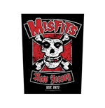 Misfits Back Patch: Biker