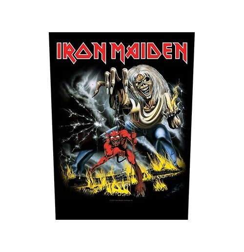 Iron Maiden Back Patch: Number of the Beast