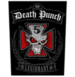 Five Finger Death Punch Back Patch: Legionary