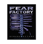 Fear Factory Standard Patch: Demanufacture (Loose)
