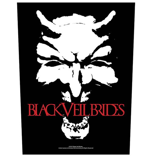 Black Veil Brides Back Patch: Devil