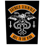 Avenged Sevenfold Back Patch: Biker