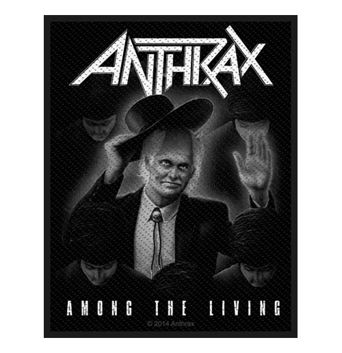 Anthrax Standard Patch: Among the Living (Loose)