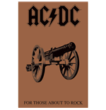 AC/DC Textile Poster: For Those About To Rock