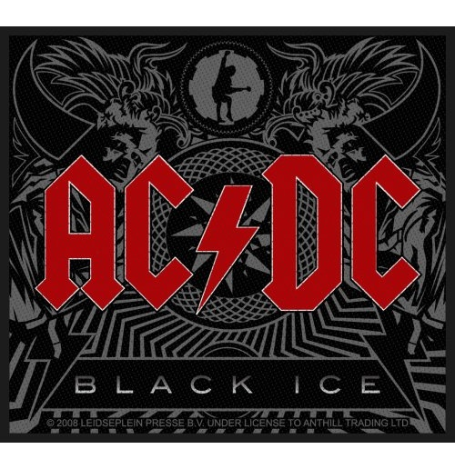 AC/DC Standard Patch: Black Ice (Loose)