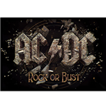 AC/DC Textile Poster: Rock Or Bust