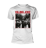 Killing Joke T-shirt Pope (WHITE)