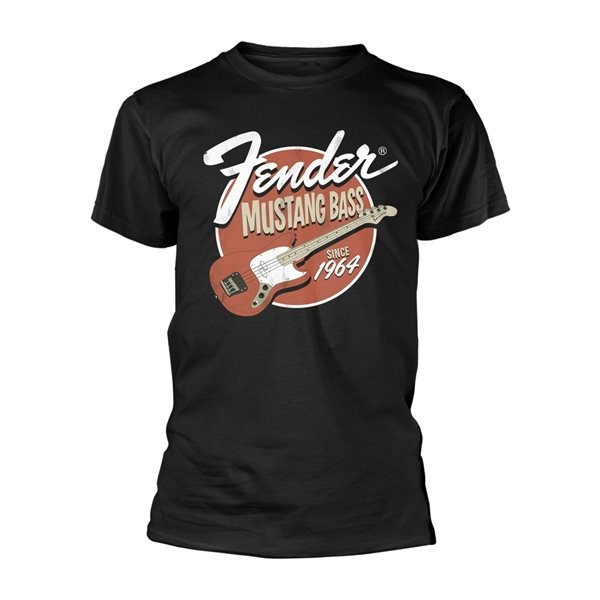 Fender T-shirt Mustang Bass