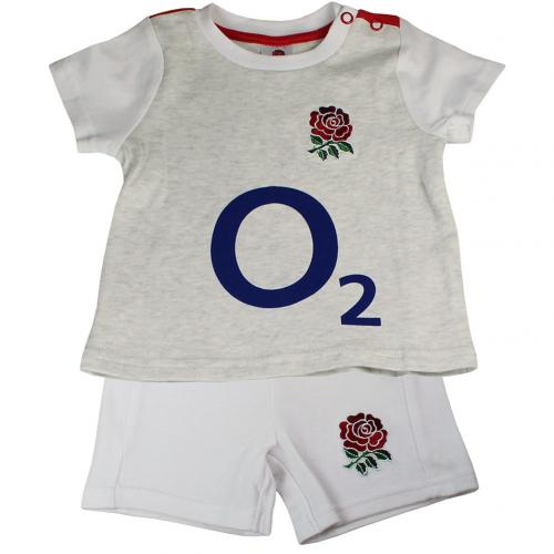 England R.F.U. Shirt & Short Set 9/12 mths GR
