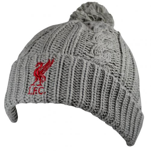 Liverpool F.C. Cable Knit Ski Hat