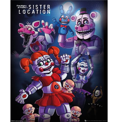 Official Five Nights At Freddy S Poster 318996 Buy Online On Offer