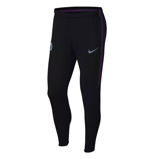 2018-2019 Man City Nike Squad Training Pants (Black)