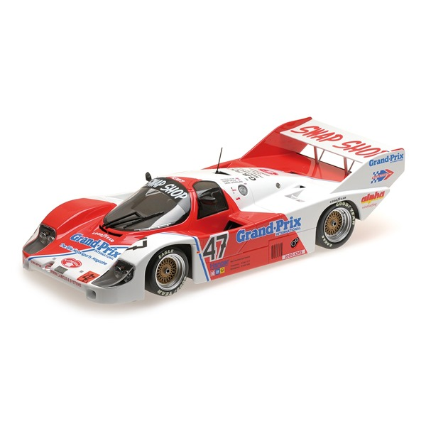 PORSCHE 956K T-BIRD SWAP GALICA SUTHERLAND HENN 1000 KM BRANDS HATCH 1983