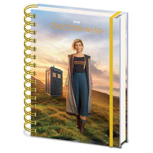 Doctor Who Notebook