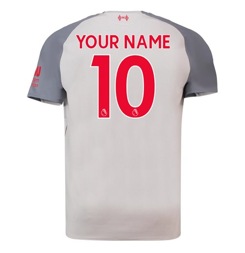 a3bea3dbf Buy Official 2018-2019 Liverpool Third Football Shirt (Your Name)