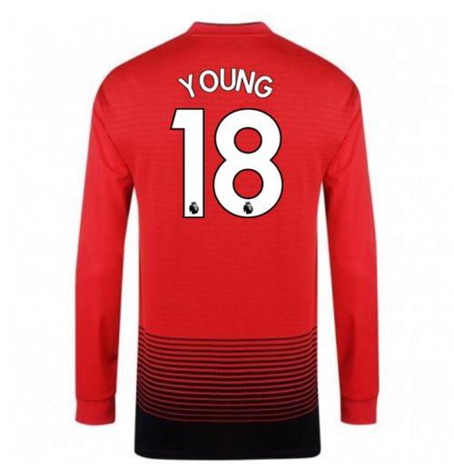 05fd94d12d5 Buy 2018-2019 Man Utd Adidas Home Long Sleeve Shirt (Young 18) - Kids