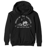 Bring Me The Horizon Unisex Pullover Hoodie: Happy Song