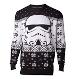 Star Wars - Stormtrooper Head Knitted Men's Sweater