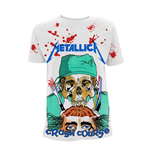Metallica T-shirt Crash Course In Brain Surgery