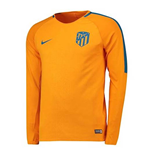 2018-2019 Atletico Madrid Nike Long Sleeve Training Shirt (Orange)