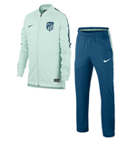 2018-2019 Atletico Madrid Nike Squad Knit Tracksuit (Igloo) - Kids
