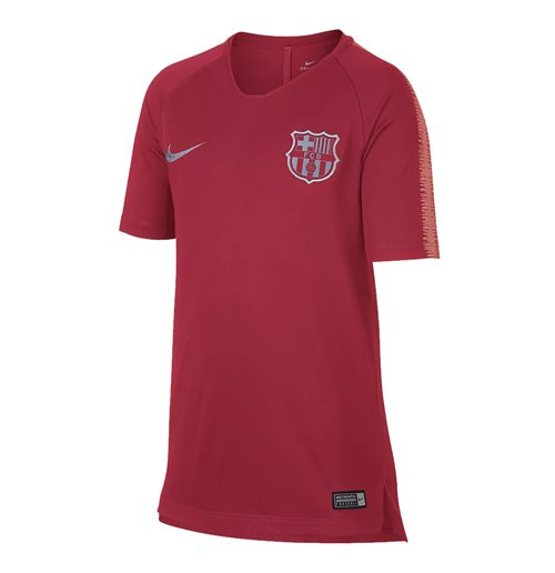 2018-2019 Barcelona Nike Training Shirt (Tropical Pink) - Kids