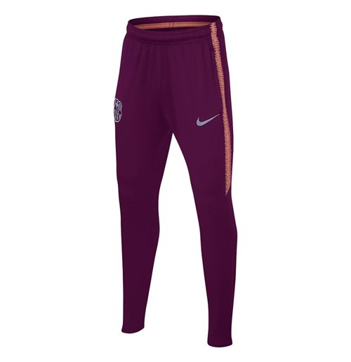 2018-2019 Barcelona Nike Training Pants (Deep Maroon) - Kids