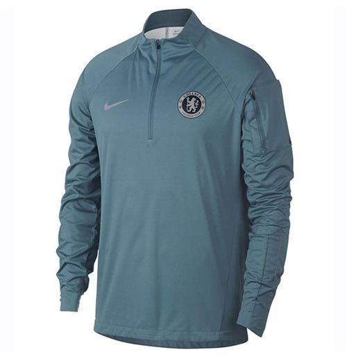 2018-2019 Chelsea Nike Shield Drill Training Top (Teal)