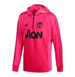 2018-2019 Man Utd Adidas Warm Top (Pink)