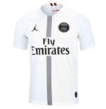 2018-2019 PSG Third Nike Football Shirt White