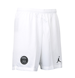 2018-2019 PSG Nike Third Shorts (White)