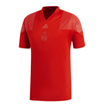 2018-2019 Real Madrid Adidas Icon Tee (Red)
