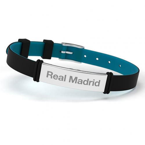 Real Madrid F.C. Colour Silicone Bracelet