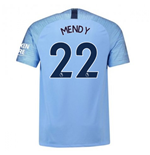 2018-2019 Man City Home Nike Football Shirt (Mendy 22) - Kids