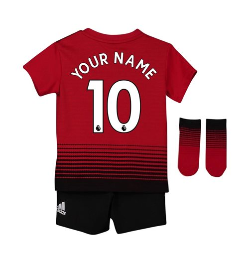 more photos 6076f 83f63 2018-2019 Man Utd Adidas Home Baby Kit (Your Name)