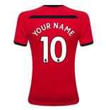 2018-2019 Southampton Home Football Shirt (Your Name)