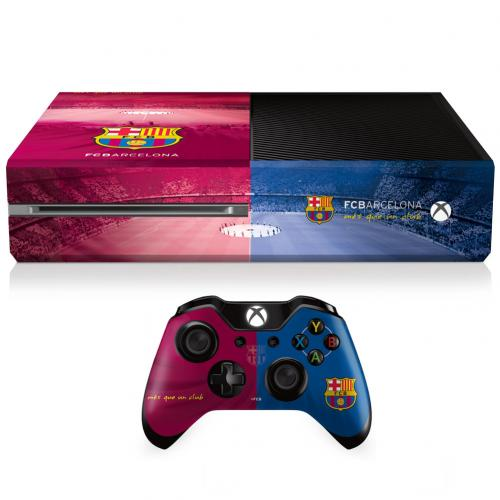 F.C. Barcelona Xbox One Skin Bundle