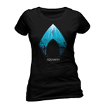 Aquaman Movie Ladies T-Shirt Logo & Symbol