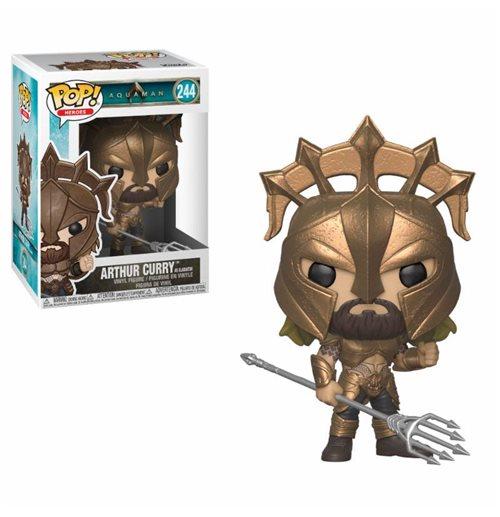 Aquaman Movie POP! Movies Vinyl Figure Arthur Curry as Gladiator 9 cm