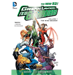 DC Comics Comic Book Green Lantern New Guardians Vol. 1 Ring Bearer by Antony Bedard english